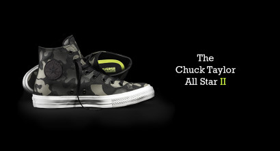 CHUCK TAYLOR ALL STAR II REFLECTIVE CAMO
