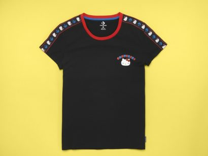 CONVERSE X HELLO KITTY TAPE TEE
