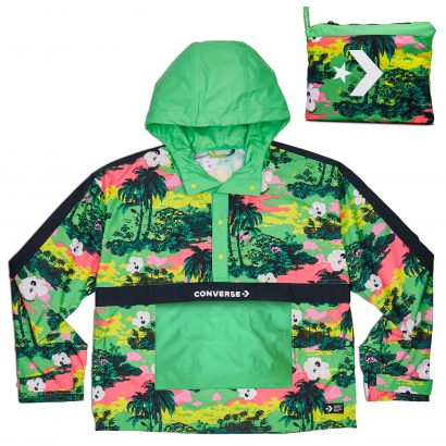 W Print Anorak ACID GREEN MULTI