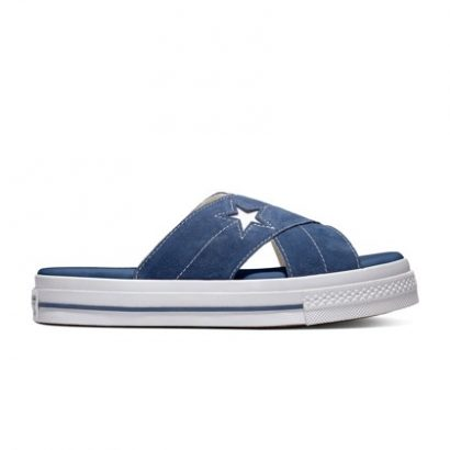 One Star Sandal NAVY/EGRET/WHITE