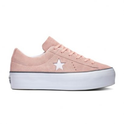 One Star Platform BLEACHED CORAL/BLACK/WHITE
