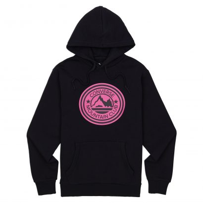 Mountain Club Patch Pullover Hoodie