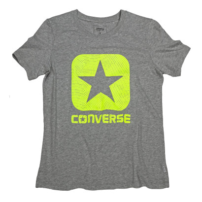 Reflective Fill Box Star Tee