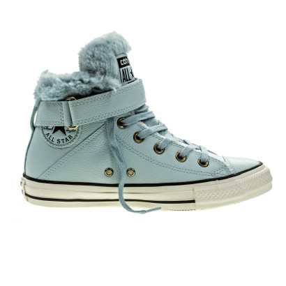 Chuck Taylor All Star Brea Leather + Fur
