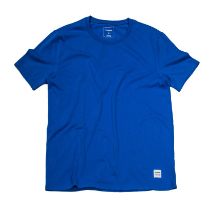 Knitted Men's SS Crew Tee