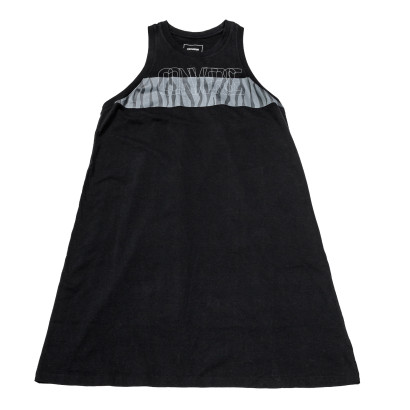 Knitted Women's sleeveless crew tee