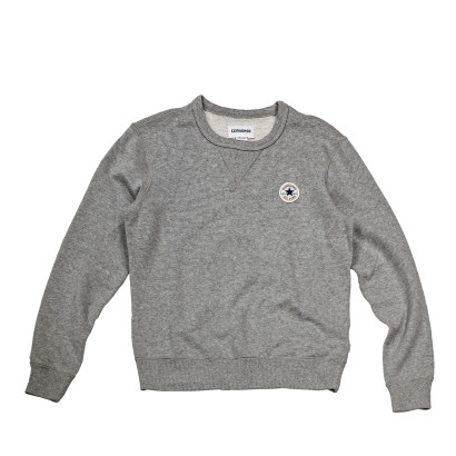 Knitted women's LS crew