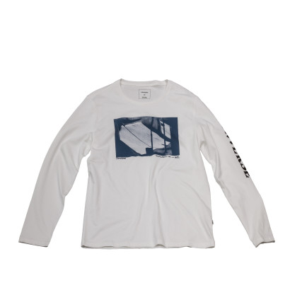 Knitted Men's LS Crew Tee