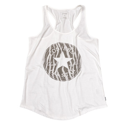 Knitted Women's sleeveless crew tank