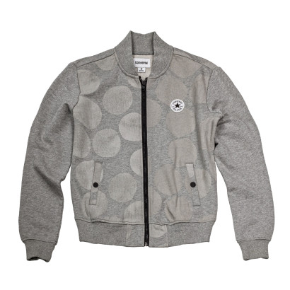 Dot CP Color Blocked Bomber