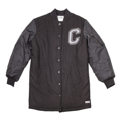 Long MA-1 Baseball Jacket