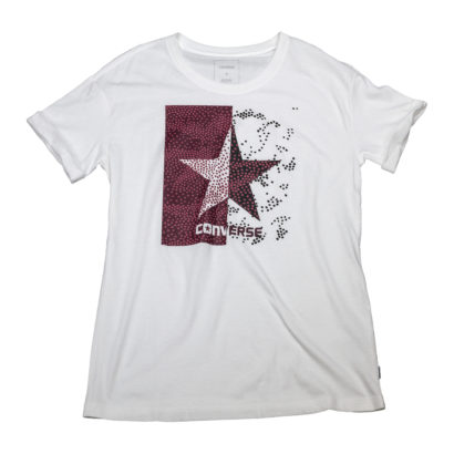 Dot Camo Star Fill Easy Crew Tee