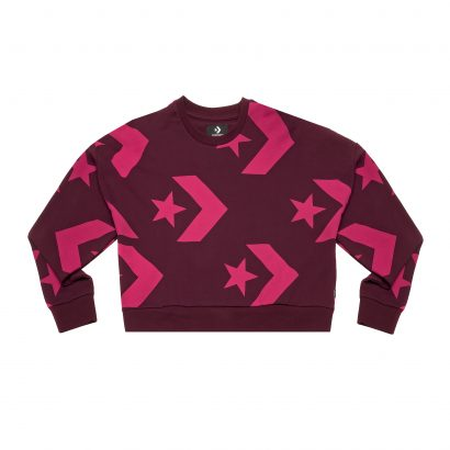 Crew Cropped Star Chevron
