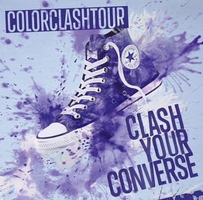 A Converse leva as cores en tour com o Color Clash Tour