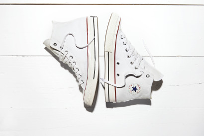 The Converse All Star Chuck '70 Optical White