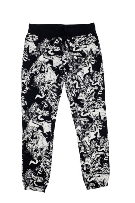 ALLOVER PRINTED SLIM PANTS