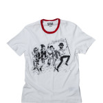 12425C-102 ,NICK PUNK ROCK RINGER TEE