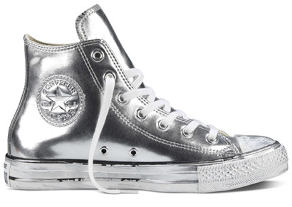 CHUCK TAYLOR ALL STAR CHROME LEATHER HI