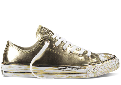 CHUCK TAYLOR ALL STAR CHROME LEATHER OX