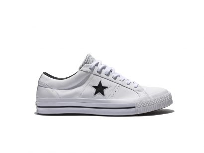 ONE STAR PERF LEATHER WHITE
