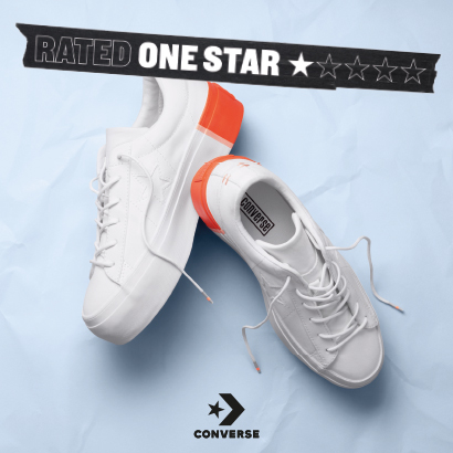 ONE STAR COLORBLOCK PLATFORM