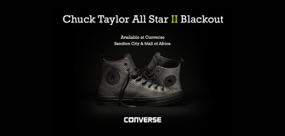 CHUCK TAYLOR ALL STAR II BLACKOUT