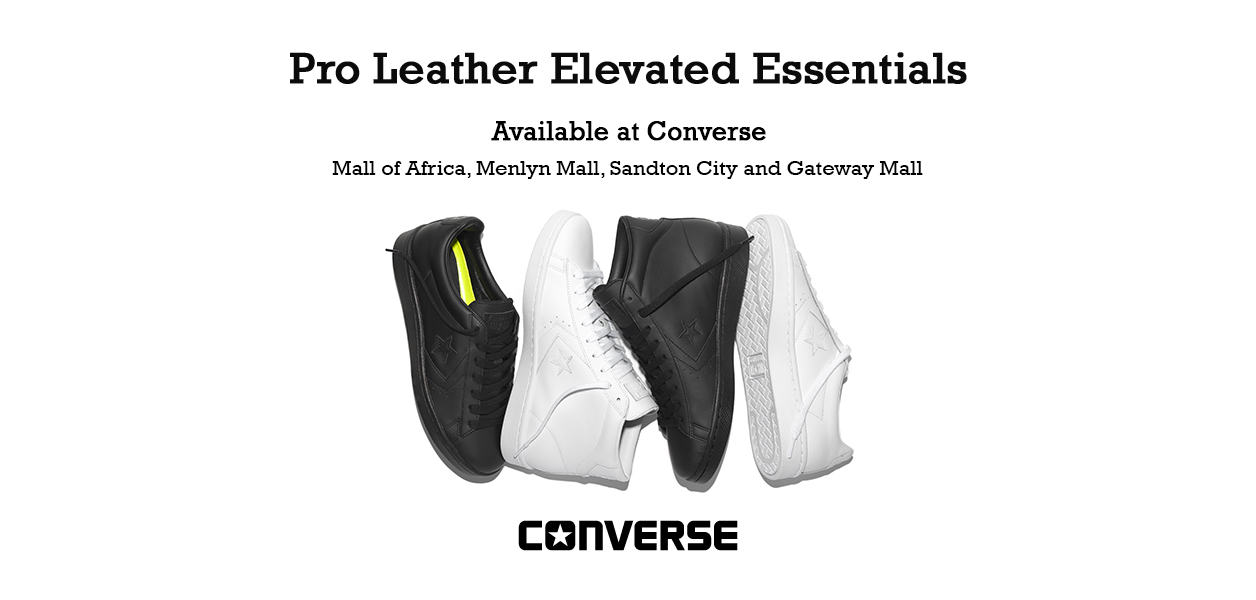 CONVERSE SOUTH AFRICA - PRO LEATHER  76 TRIPLE BLACK   WHITE f61a61c32