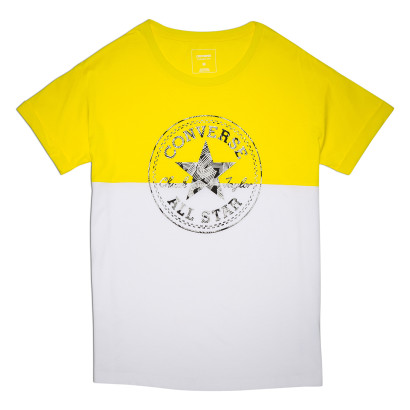COLOR BLOCK CP LOGO EASY CREW TEE