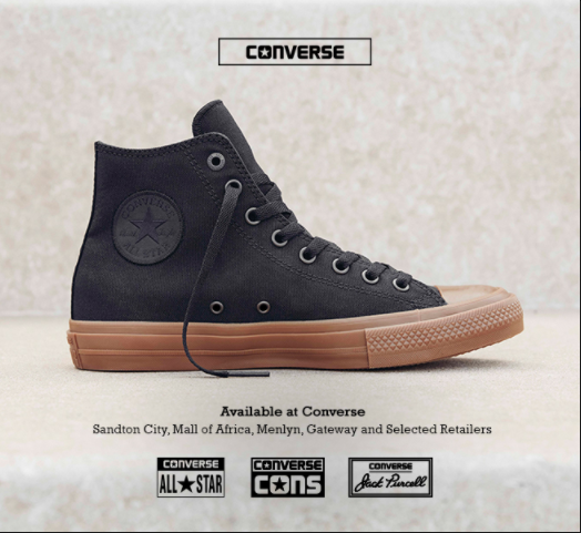 CONVERSE SOUTH AFRICA - CHUCK TAYLOR ALL STAR II GUM - RUBBER 984bcc343