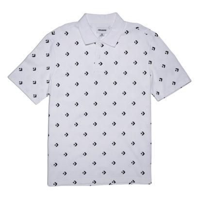 STAR CHEVRON PRINT POLO