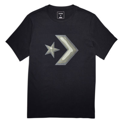 DIMENSIONAL LAYER STAR CHEVRON TEE