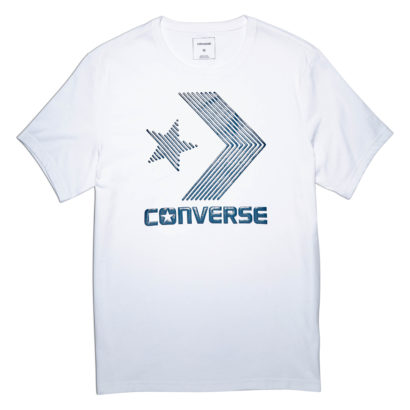 LINE FILL STAR CHEVRON TEE