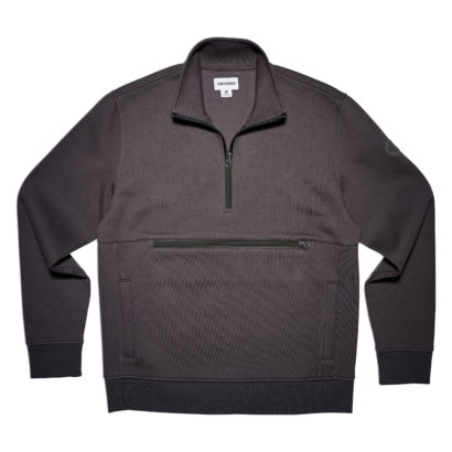 CONS HALF ZIP PULLOVER SWEATER