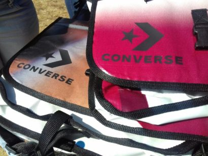CONVERSE DESKBAGS – COUNTLESS LIVES CHANGED.