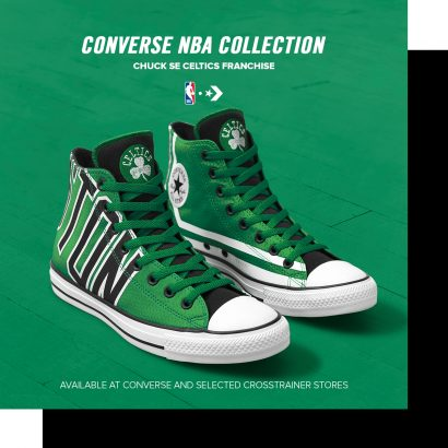 Converse – footprint on the NBA court!