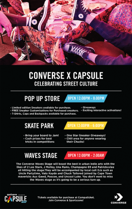 Converse Presents Waves Stage at Capsule Fest