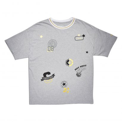 CONVERSE ALL OVER PATCH BOXY TEE