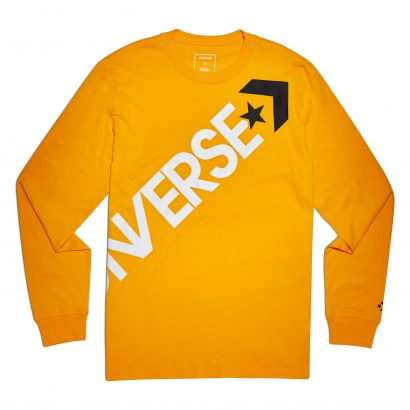 CONVERSE CROSS BODY LONG SLEEVE TEE