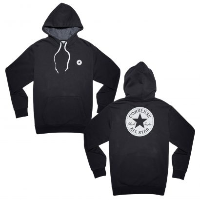 CONVERSE CHUCK PATCH GRAPHIC PULLOVER HOODIE