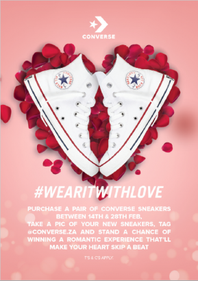 #WEARITWITHLOVE – win this Valentine's Day