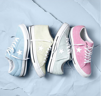 CONVERSE LAUNCHES ONE STAR PREMIUM SUEDE COTTON CANDY COLLECTION