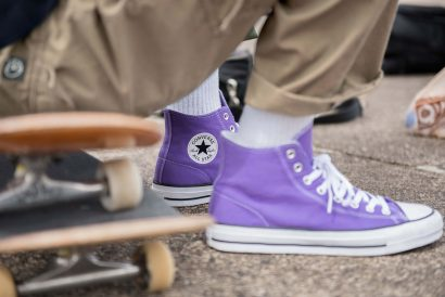 dadf53dd97ed Converse CONS Drops Purple Skate Film