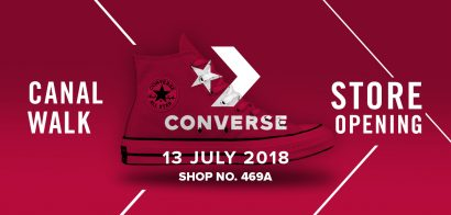 Converse Launches Its Newest Store In Canal Walk, Cape Town