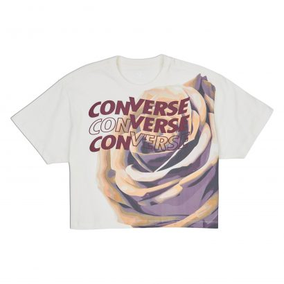 CONVERSE ROSE EASY CROP TEE