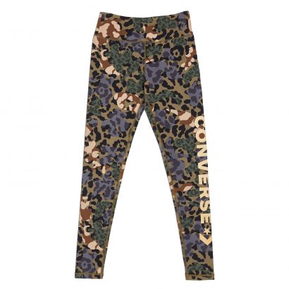 CONVERSE ANIMAL CAMO METALLIC WORDMARK LEGGING