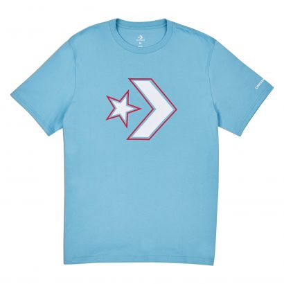 CONVERSE OUTLINED STAR CHEVRON TEE