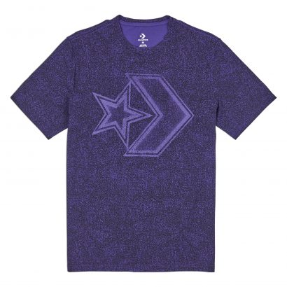 CONVERSE DISTRESSED STAR CHEVRON TEE