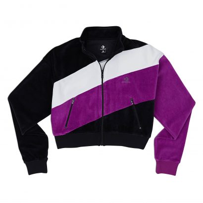CONVERSE COLOR BLOCKED TRACK JACKET