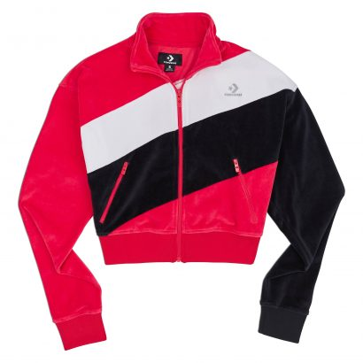 CONVERSE COLOUR BLOCKED TRACK JACKET