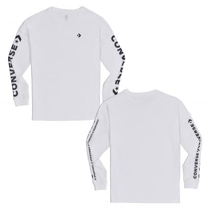CONVERSE WORDMARK LONG SLEEVE TEE
